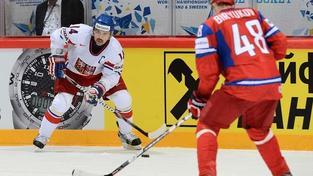 Hokejisté podlehli Rusku a stále nemají jisté čtvrtfinále