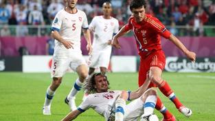Čechům se proti Rusko téměř nic nedařilo, gól Pilaře byl světlou výjimkou