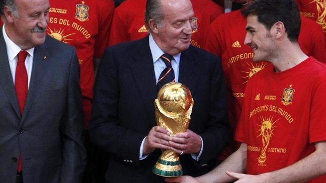Vítězní Španělé přiletí do Madridu v 15 hodin. Hrdinové se setkají s králem Juanem Carlosem