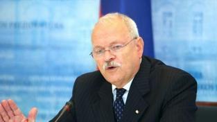 Prezident Gašparovič: Zatím jsme řešení nenašli. Vládní krize pokračuje