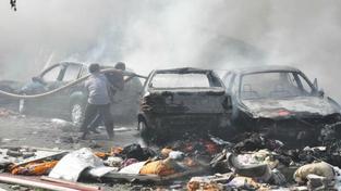 Bomba na silnici zabila nejméně 14 Afghánců, vraceli se ze svatby