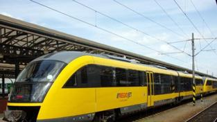 Jančurovy žluté vlaky RegioJet dnes poprvé vyjely!