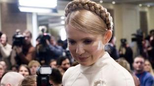 Vězněná expremiérka Tymošenková podala žalobu na Janukovyče