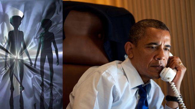 Obama vzkazuje vědcům: Když zkontaktujete Marťany, zavolejte mi!