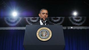 Obama vědcům: Až zkontaktujete Marťany, tak mi zavolejte