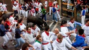 V Pamploně skončily běhy před býky
