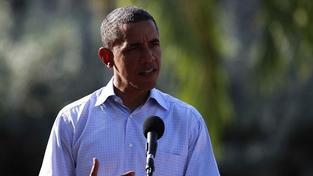 Obama stále láká davy, jsou ale menší než před čtyřmi lety
