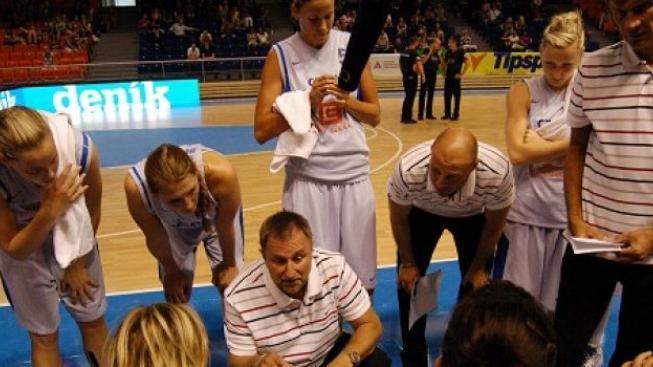 Basketbalistky bez medaile: Nestačily na Francii a jsou čtvrté