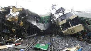 Dělník viděl pád mostu i náraz vlaku u Studénky. Snaží se zapomenout