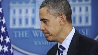 Kolem letounu s Obamou se vyrojila dvě letadla. Ihned zasáhly stíhačky