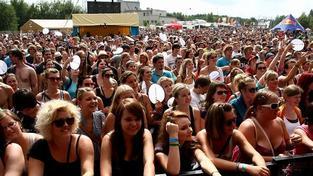 Sázavafest zatím přilákal 7000 návštěvníků