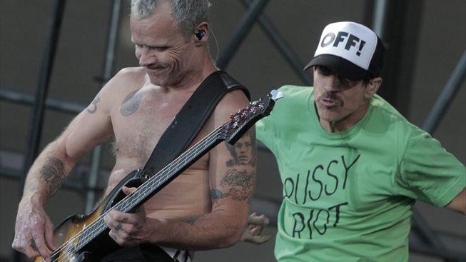 Red Hot Chili Peppers v Moskvě: Vyjádřili jasnou podporu Pussy Riot