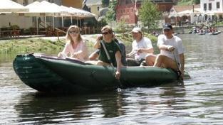 Vodáci by si měli o víkendu dát pozor na rozvodněné potoky