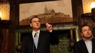 Vládní krize graduje, jednání koaličních špiček nikam nevedlo