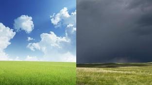 Čeká nás slunečný pracovní týden a deštivý víkend