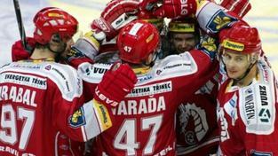 Hokejisté Třince poprvé v sezoně vyhráli, přehráli Zlín 3:0