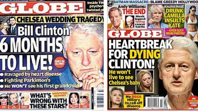 Šest měsíců života? Bill Clinton prý umírá