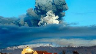 Sopka na Islandu hrozí výbuchem. Zaviní kolaps letecké dopravy?
