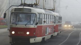 Tramvaj v Praze 10 v podvečer srazila chodce, na místě zemřel