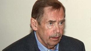 Havel na Klausův projev u Moravce nereagoval. Pořad byl předtočen