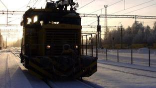 Kvůli sněhu je v Česku uzavřeno pět železničních tratí
