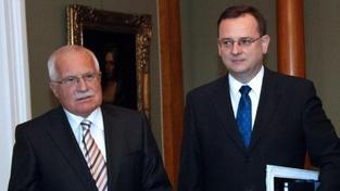 Nečas: Změnu lisabonské smlouvy by měl schvalovat i Klaus