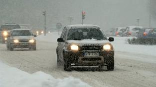Přichází zima. V Česku bude sněžit už od úterý