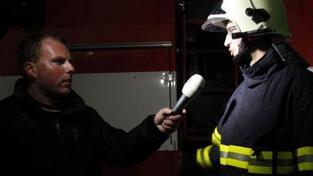 Při požáru trajektu v Baltském moři se lehce zranilo 20 lidí