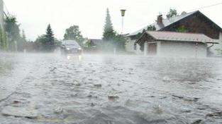 Noční bouře rozvodnila řeky na Děčínsku, na Mandavě je stav ohrožení