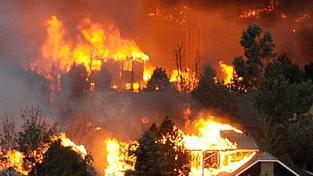 Stav katastrofy: Colorado sužuje nejhorší požár v historii
