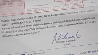 SANEP: Většina Čechů Kalouskovu složenku odsuzuje