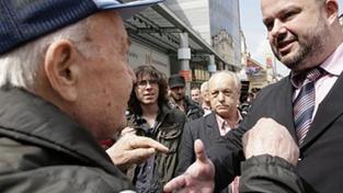 Pecina vysvětloval politiku ČSSD