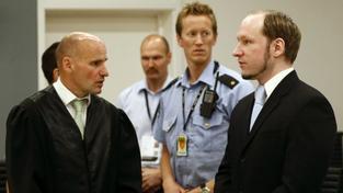 Breivikův obhájce: Můj klient je naprosto příčetný a psychicky zdravý