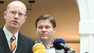 Sobotka: Nechceme velkou koalici. Lidovce nebo menšinovou vládu