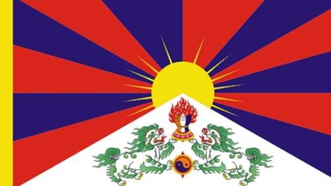 Na Kopřivnické radnici zavlála tibetská vlajka