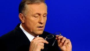 Někteří reportéři ČT se chovají podjatě, čílil se Topolánek v televizi