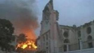Pomoc Červeného kříže obětem zemětřesení