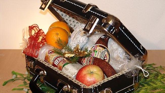 Dárkové sedmero pro netradiční dárky z masných výrobků
