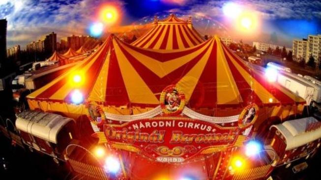 Charitativní  akce 1. vánoční cirkus