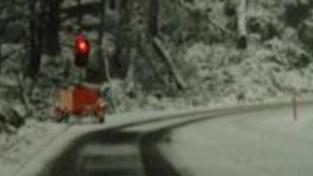Meteorologové varují před silným větrem a sněžením