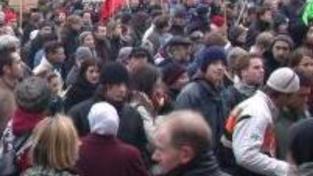 Slováci hrozí kvůli příjezdu prezidenta Číny protesty