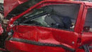Na dálnici D8 uhořeli při nehodě dva cizinci
