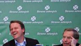 Havel podpořil Bursíkovy zelené