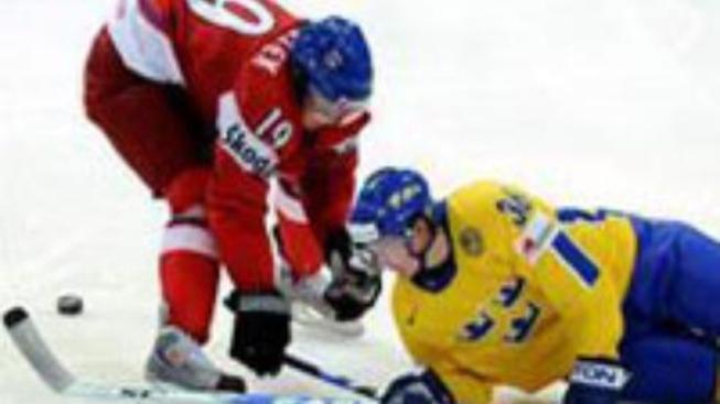 Češi opět nestačili na Švédy a o medaile si nezahrají
