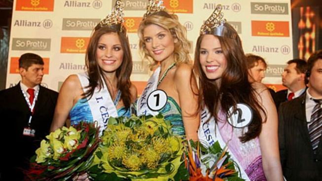Českou Miss pro rok 2009 se stala Iveta Lutovská z Třeboně