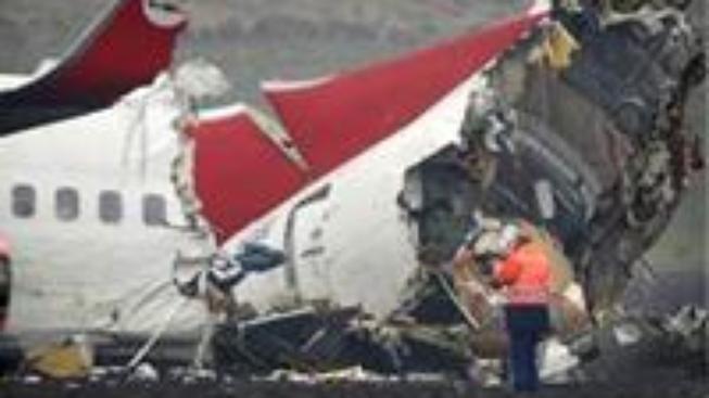 Boeing se po přistání  v Amsterodamu rozpadl na kusy