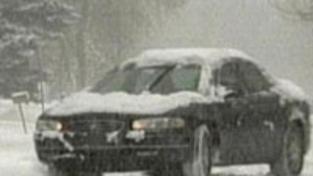 Sněžení a vítr komplikovaly dopravu