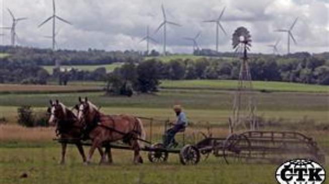 Amišové považují solární energii za boží dar