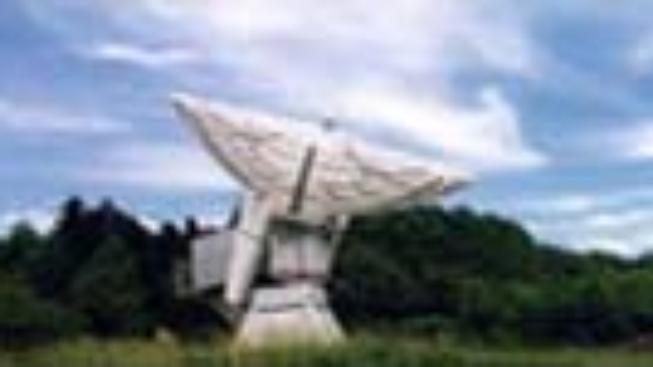 USA: Letící brašna na noční obloze