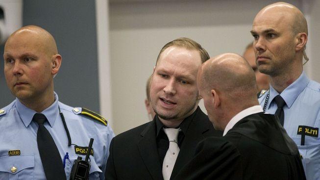 Breivik: Cítím se zraněn na duši